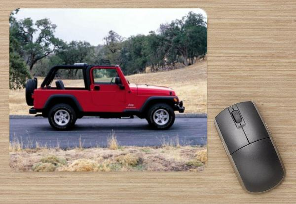 Jeep Wrangler Unlimited 2004 mousepad #578840