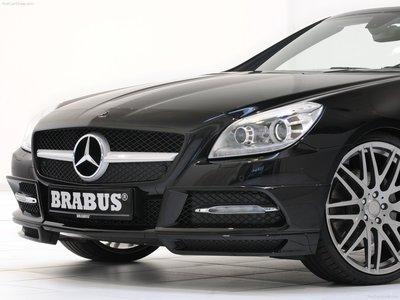 Brabus mercedes benz slk class 2012 poster 10751 for Mercedes benz slk brabus price