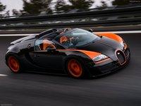 Bugatti Veyron Grand Sport Vitesse WRC 2013 poster