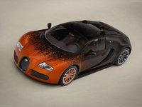 Bugatti Veyron Grand Sport Bernar Venet 2012 poster