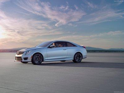 Cadillac ATS V Coupe 2016 poster #12380 - PrintCarPoster.com