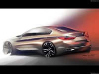 BMW Compact Sedan Concept 2015 poster