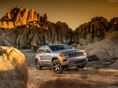 Jeep Grand Cherokee Trailhawk 2017 poster #1250873