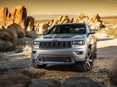 Jeep Grand Cherokee Trailhawk 2017 poster #1250886