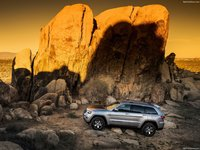 Jeep Grand Cherokee Trailhawk 2017 poster