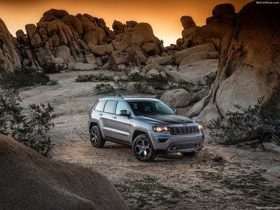 Jeep Grand Cherokee Trailhawk 2017 poster #1250892