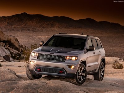 Jeep Grand Cherokee Trailhawk 2017 poster #1250893