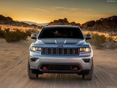 Jeep Grand Cherokee Trailhawk 2017 poster #1250897