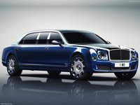 Bentley Mulsanne Grand Limousine by Mulliner 2017 poster
