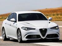 Alfa Romeo Giulia Quadrifoglio Poster PrintCarPostercom - Alfa romeo posters