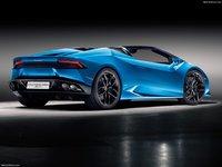 Lamborghini Huracan LP610-4 Spyder 2017 poster
