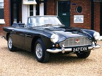 Aston Martin DB4 Convertible 1961 poster