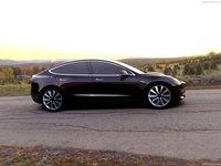 Tesla Model 3 2018 poster