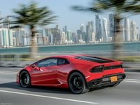 Lamborghini Huracan LP580-2 2017 poster