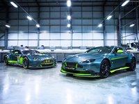 Aston Martin Vantage GT8 2017 poster