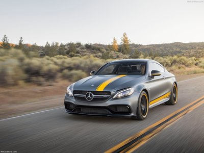 Mercedes Benz C63 AMG Coupe Edition 1 2017 Poster #1284923