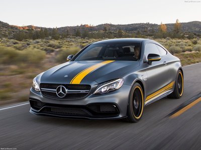 Mercedes-Benz C63 AMG Coupe Edition 1 2017 poster #1284959 ...
