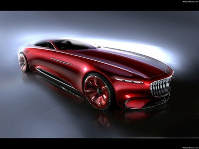 Mercedes benz vision maybach 6 concept 2016 poster for Mercedes benz maybach 6 price