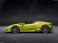 Lamborghini Huracan RWD Spyder 2017 poster