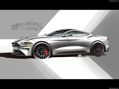 Ford Mustang Gt 2018 Poster 1292686