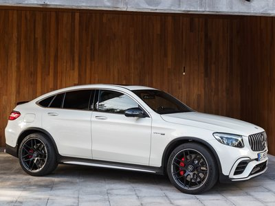 Mercedes benz glc63 s amg coupe 2018 poster 1301649 for Mercedes benz genuine polar white touch up paint code 149