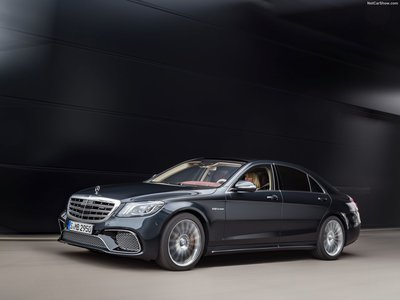 Mercedes Benz S65 Amg 2018 Poster 1303922
