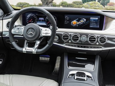 Great Mercedes Benz S63 AMG 2018 Poster #1304008