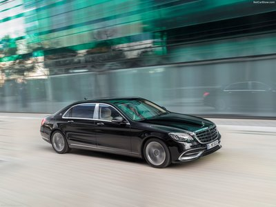 Mercedes Benz S Cl Maybach 2018 Poster 1304285