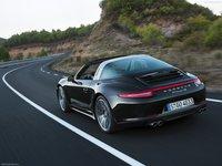 Porsche 911 Targa 2015 poster