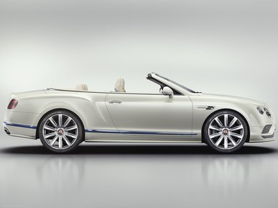 Bentley Continental Gt Convertible Galene Edition 2017 Poster