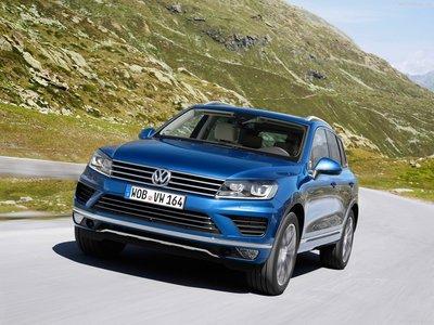 Volkswagen Touareg 2015 poster #1316378