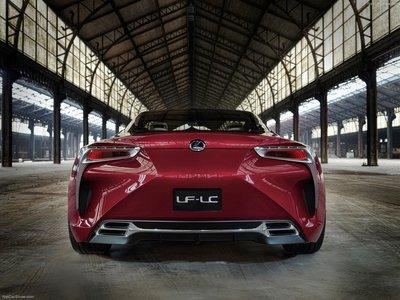 Lexus LF-LC Concept 2012 poster #1317388 - PrintCarPoster.com