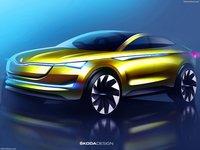 Skoda Vision E Concept 2017 poster