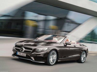 Mercedes-Benz S-Class Cabriolet 2018 poster #1320610 ...