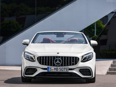 Mercedes-Benz S63 AMG Cabriolet 2018 poster #1320659 ...