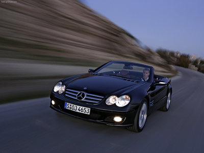 Mercedes-Benz SL 350 2006 poster #1328527