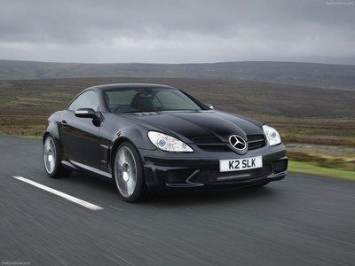 Mercedes Benz Slk 55 Amg Black Series 2007 Poster 1328689