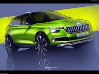 Skoda Vision X Concept 2018 poster