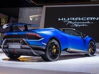 Lamborghini Huracan Performante Spyder 2019 poster