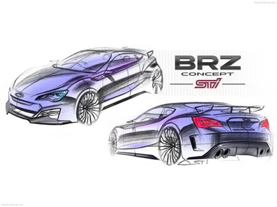 Subaru BRZ STI Concept 2011 poster #1346996