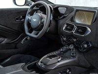 Aston Martin Vantage Tungsten Silver 2019 poster