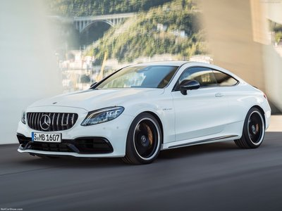 C63 Amg Coupe >> Mercedes Benz C63 S Amg Coupe 2019 Poster