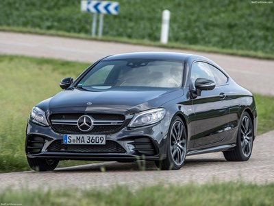 Mercedes C43 Amg Coupe >> Mercedes Benz C43 Amg Coupe 2019 Poster
