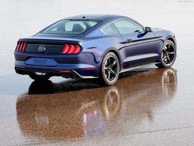 Kona Blue Mustang >> Ford Mustang Bullitt Kona Blue 2019 Poster