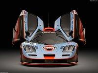 McLaren F1 GTR Longtail 25R 1997 poster