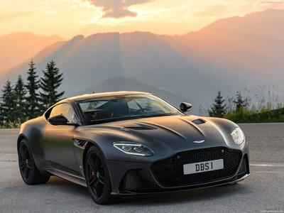 Aston Martin Dbs Superleggera Xenon Grey 2019 Poster 1360864 Printcarposter Com