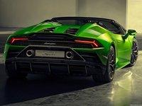 Lamborghini Huracan Evo Spyder 2019 poster