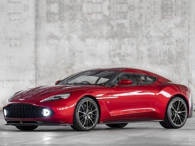 Aston Martin Vanquish Zagato 2017 poster #1404802