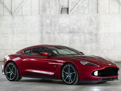 Aston Martin Vanquish Zagato 2017 poster #1404830