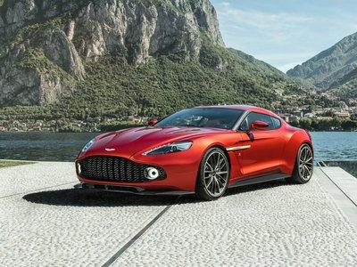 Aston Martin Vanquish Zagato 2017 poster #1404833